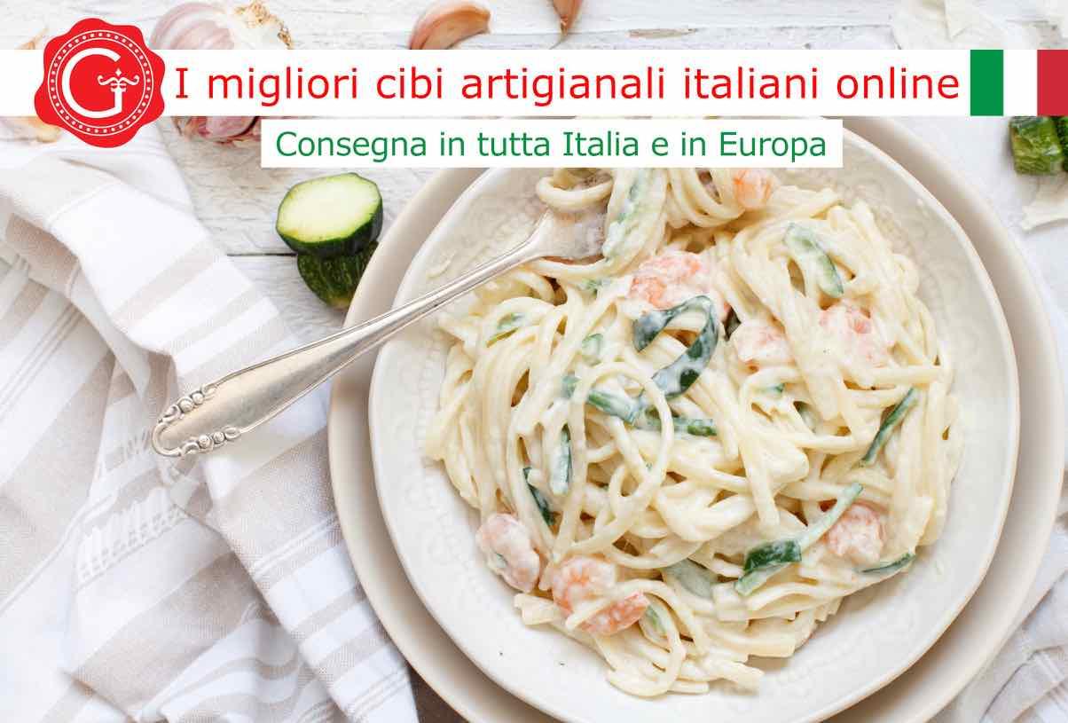 pasta gamberi e zucchine - Gustorotondo - acquista online i migliori cibi artigianali