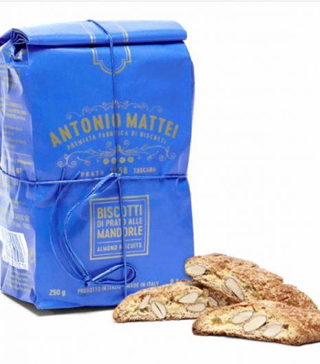 Antonio Mattei Prato biscuits - cantuccini - cantucci - Gustorotondo