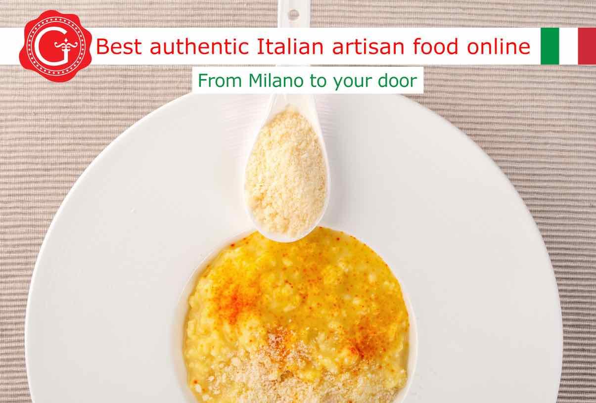 risotto milanese - Gustorotondo - shop online - best Italian food