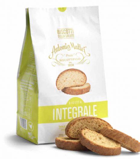 Biscotti della Salute Antonio Mattei integrali - Gustorotondo