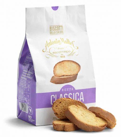 Biscotti della Salute Antonio Mattei ricetta originale - Gustorotondo