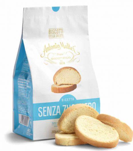 Biscotti della Salute Antonio Mattei senza zucchero - Gustorotondo