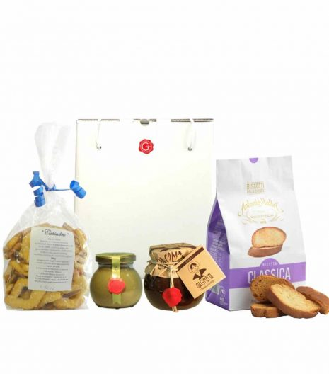 confezione regalo - momenti di dolcezza - Gustorotondo - spesa online