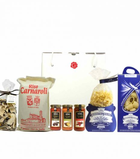 confezione regalo - primi con gusto - Gustorotondo - spesa online