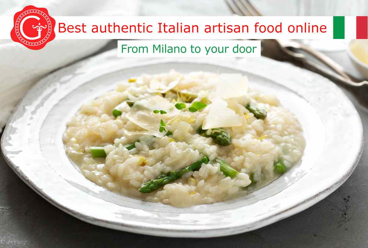 risotto with asparagus - Gustorotondo - shop online