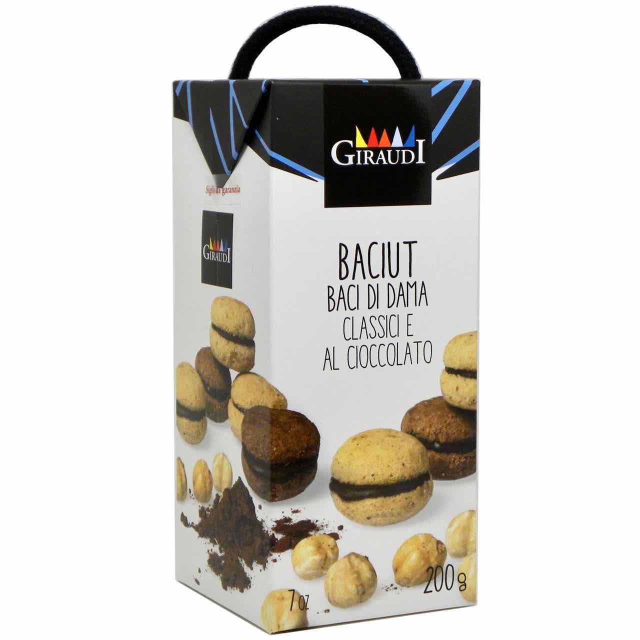 baci di dama tacit cookies Giraudi – shop online – Gustorotondo – best Italian food – Gustorotondo online food shop – authentic Italian artisan food