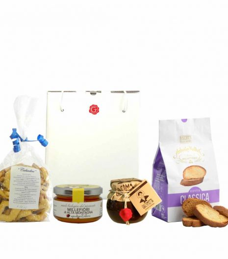 confezione regalo con dolcezza 2 - Gustorotondo - spesa online