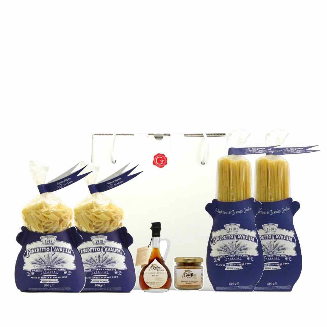 confezione regalo Sapori di mare 2 –  Gustorotondo – spesa online –  Gustorotondo online shop – i migliori cibi online – vendita online dei migliori cibi italiani artigianali