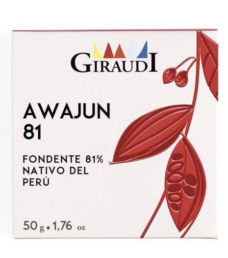 cioccolato Giraudi tavoletta Awajun - Gustorotondo - buono sano artigiano - spesa online