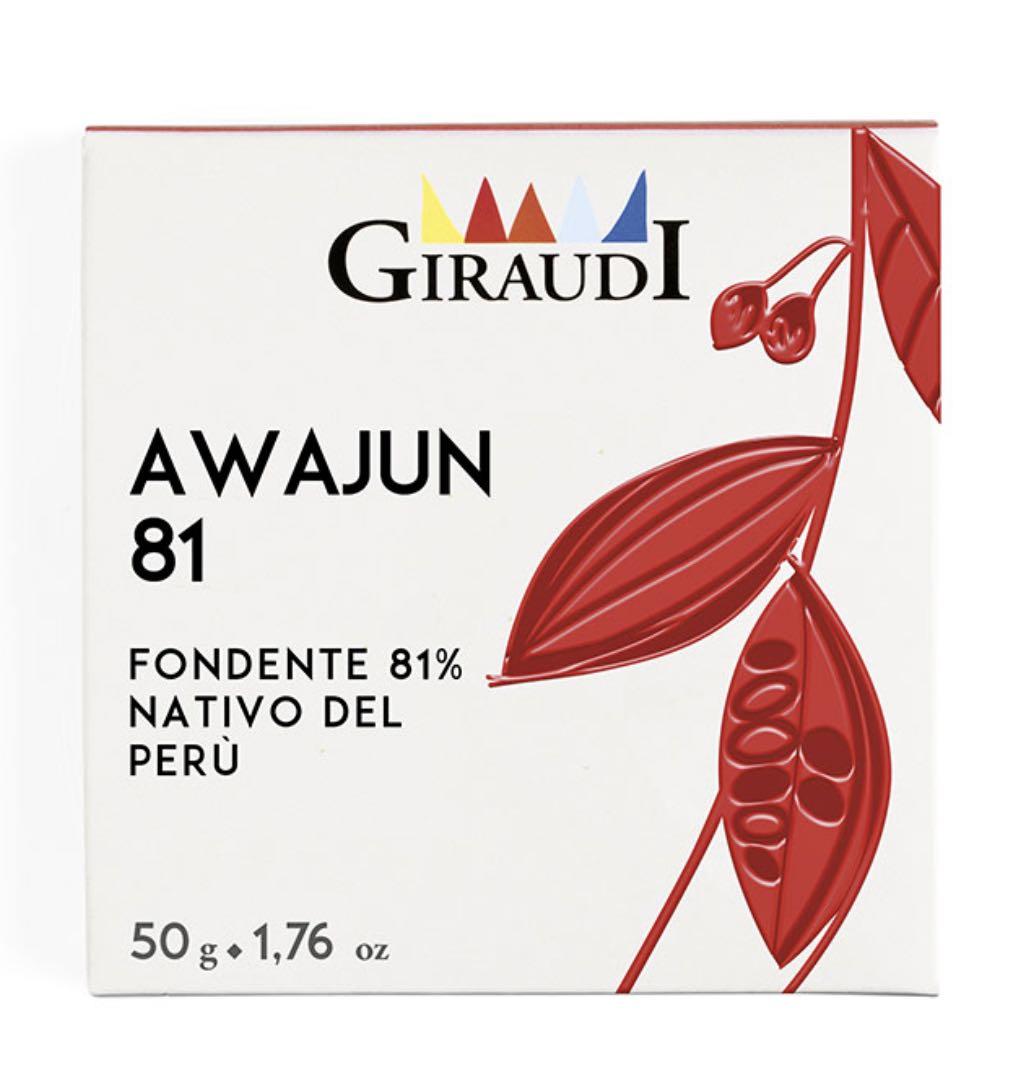 cioccolato Giraudi tavoletta Awajun – Gustorotondo – buono sano artigiano – spesa online
