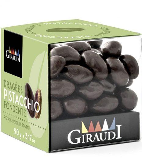 Giraudi pistacchi ricoperti cioccolato fondente - Gustorotondo - buono sano artigiano - spesa online