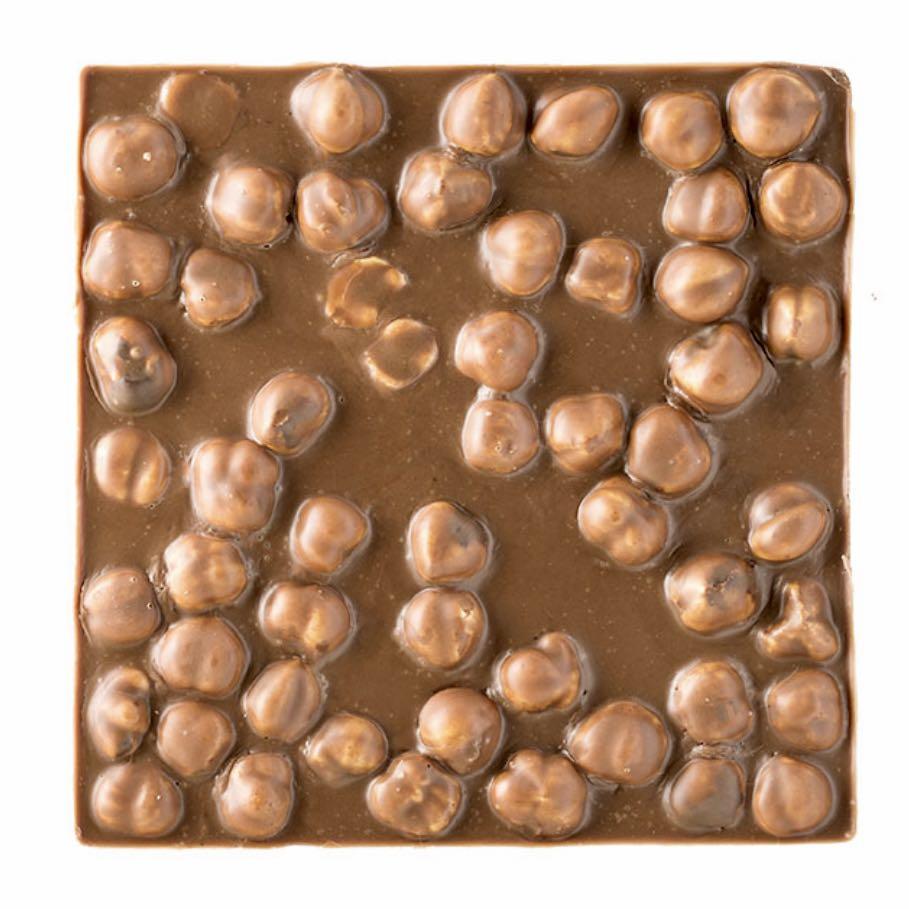 Quadrella Giraudi cioccolato latte e nocciole – Gustorotondo – buono sano artigiano – spesa online