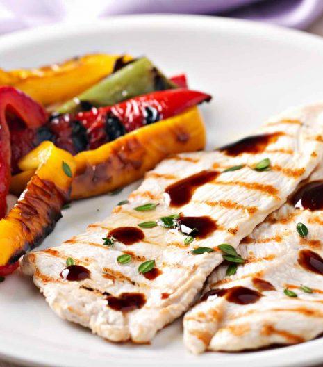 aceto balsamico pollo verdure - Gustorotondo - spesa online