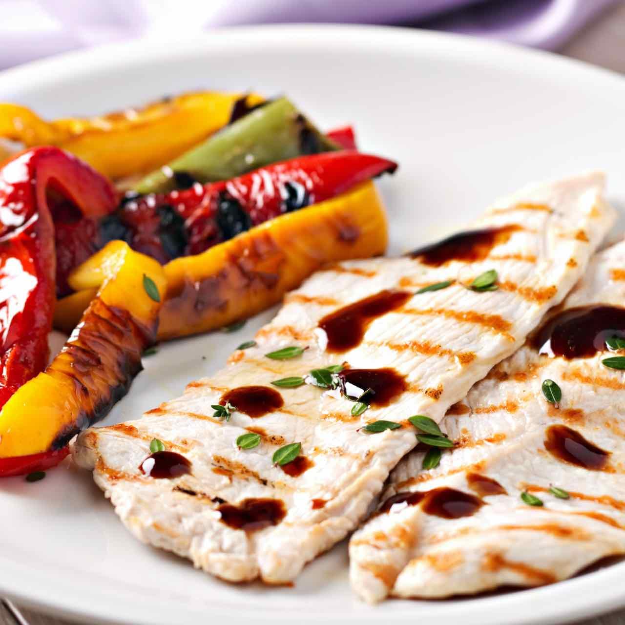 aceto balsamico pollo verdure – Gustorotondo – spesa online