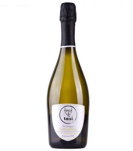Garganega spumante vino Bio TASI - Gustorotondo - buono sano artigiano
