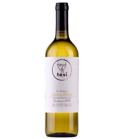 Garganega vino Bio TASI - Gustorotondo - buono sano artigiano