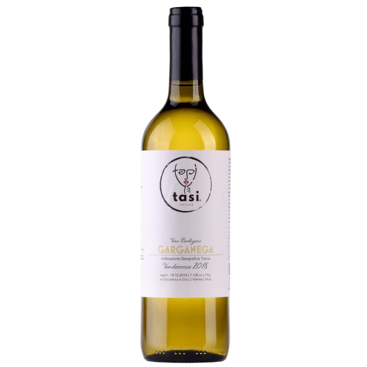 Garganega vino Bio TASI  – Gustorotondo – buono sano artigiano