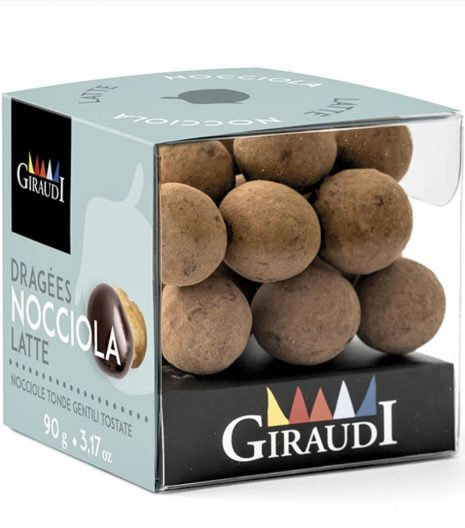 Giraudi nocciole ricoperte cioccolato fondente - Gustorotondo - buono sano artigiano - spesa online