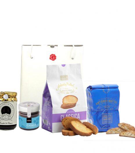 confezione regalo classico gianduia - Gustorotondo - buono sano artigiano - spesa online