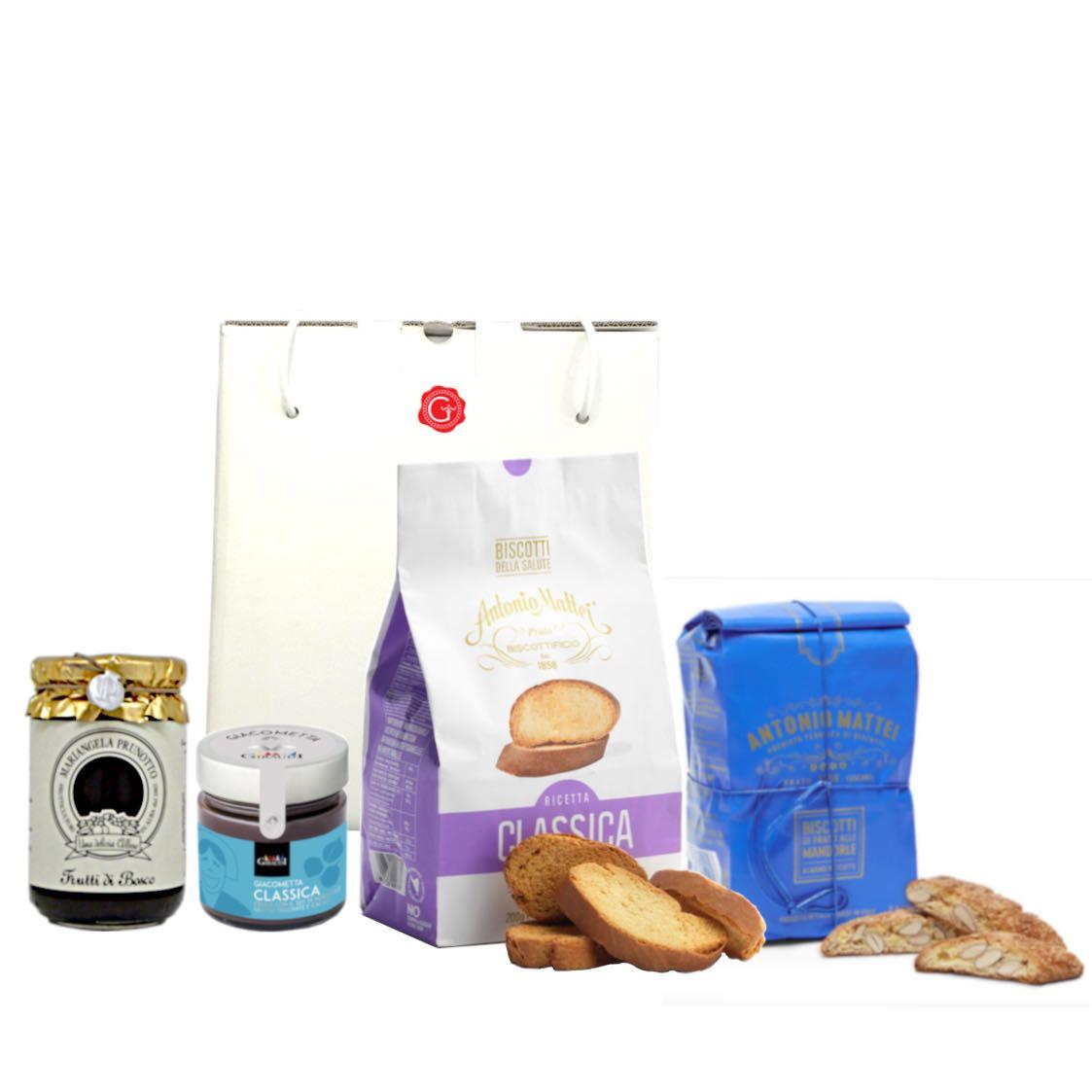confezione regalo classico gianduia – Gustorotondo – buono sano artigiano – spesa online