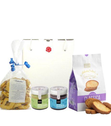 confezione regalo con dolcezza - Gustorotondo - buono sano artigiano - spesa online