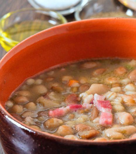 fagioli borlotti zuppa - Gustorotondo - spesa online - buono sano artigiano