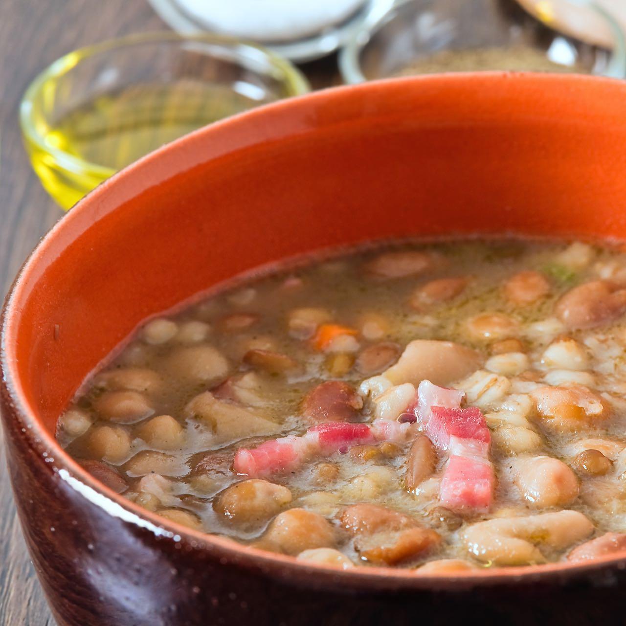 fagioli borlotti zuppa – Gustorotondo – spesa online – buono sano artigiano