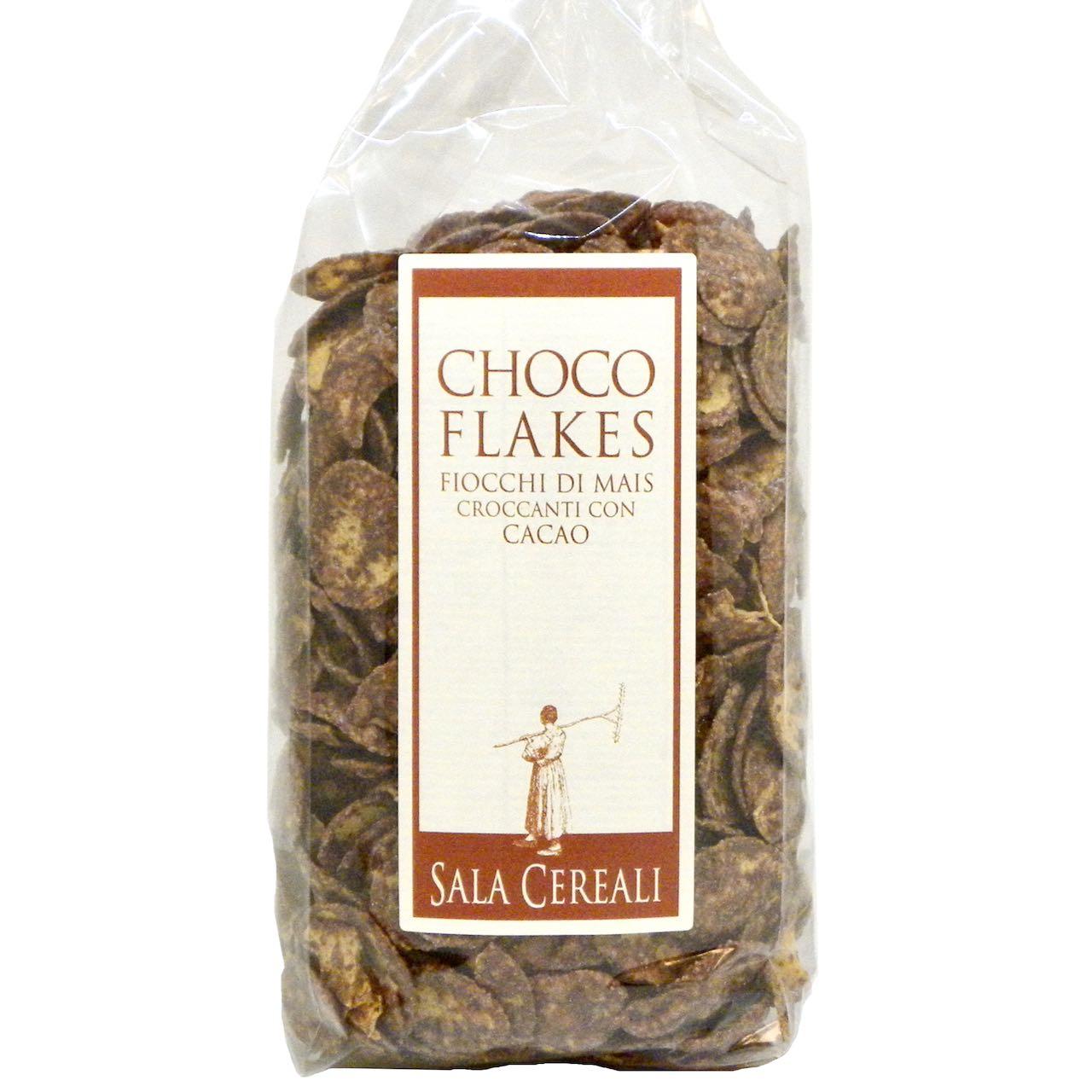 fiocchi di mais con cacao Sala Cereali – Gustorotondo – buono sano artigiano