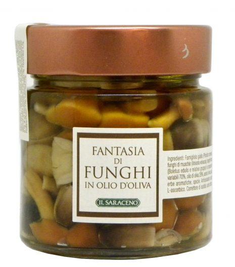 funghi sott'olio di oliva Sala Cereali - Gustorotondo - buono sano artigiano