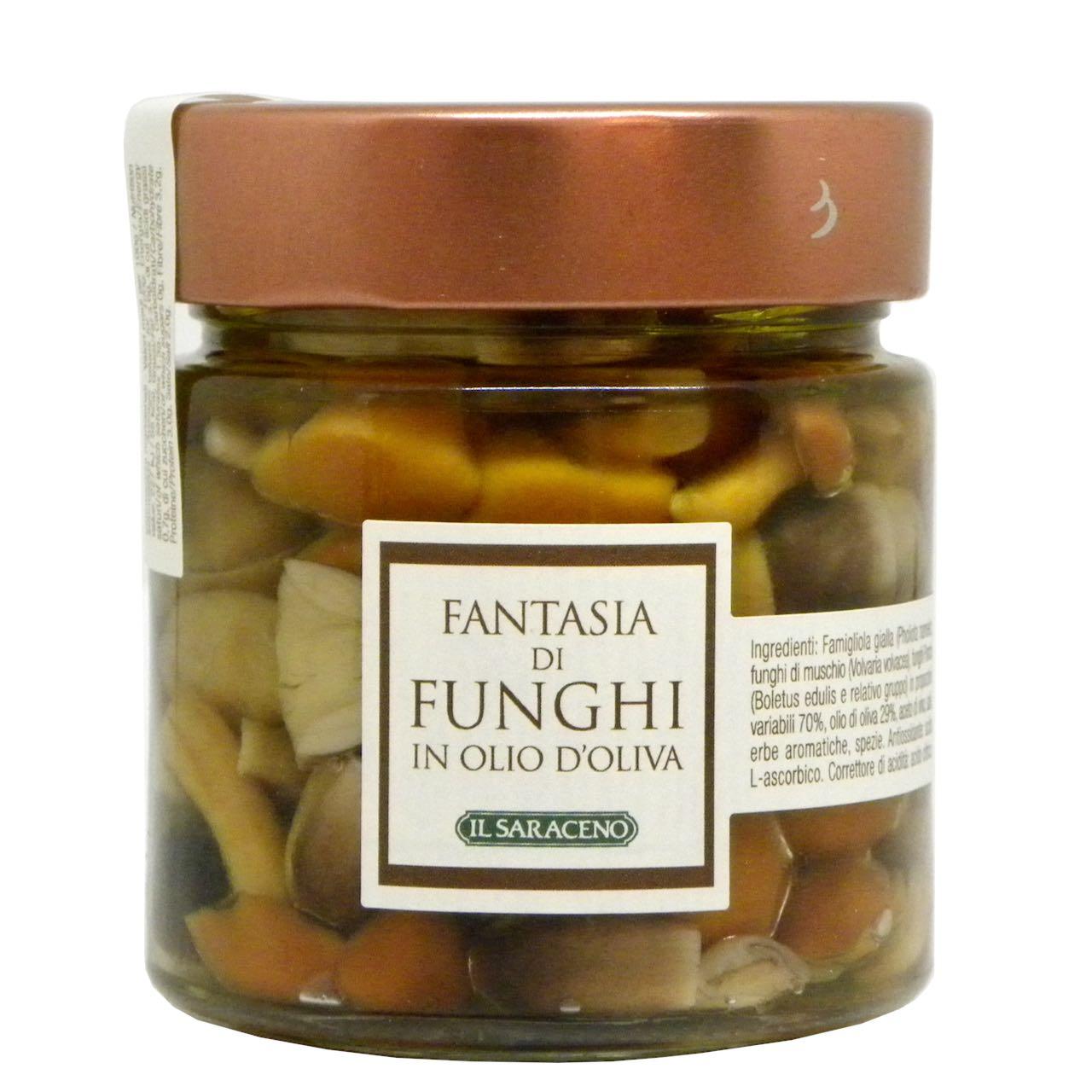 funghi sott'olio di oliva Sala Cereali – Gustorotondo – buono sano artigiano
