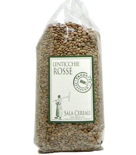lenticchie rosse Sala Cereali - Gustorotondo - buono sano artigiano