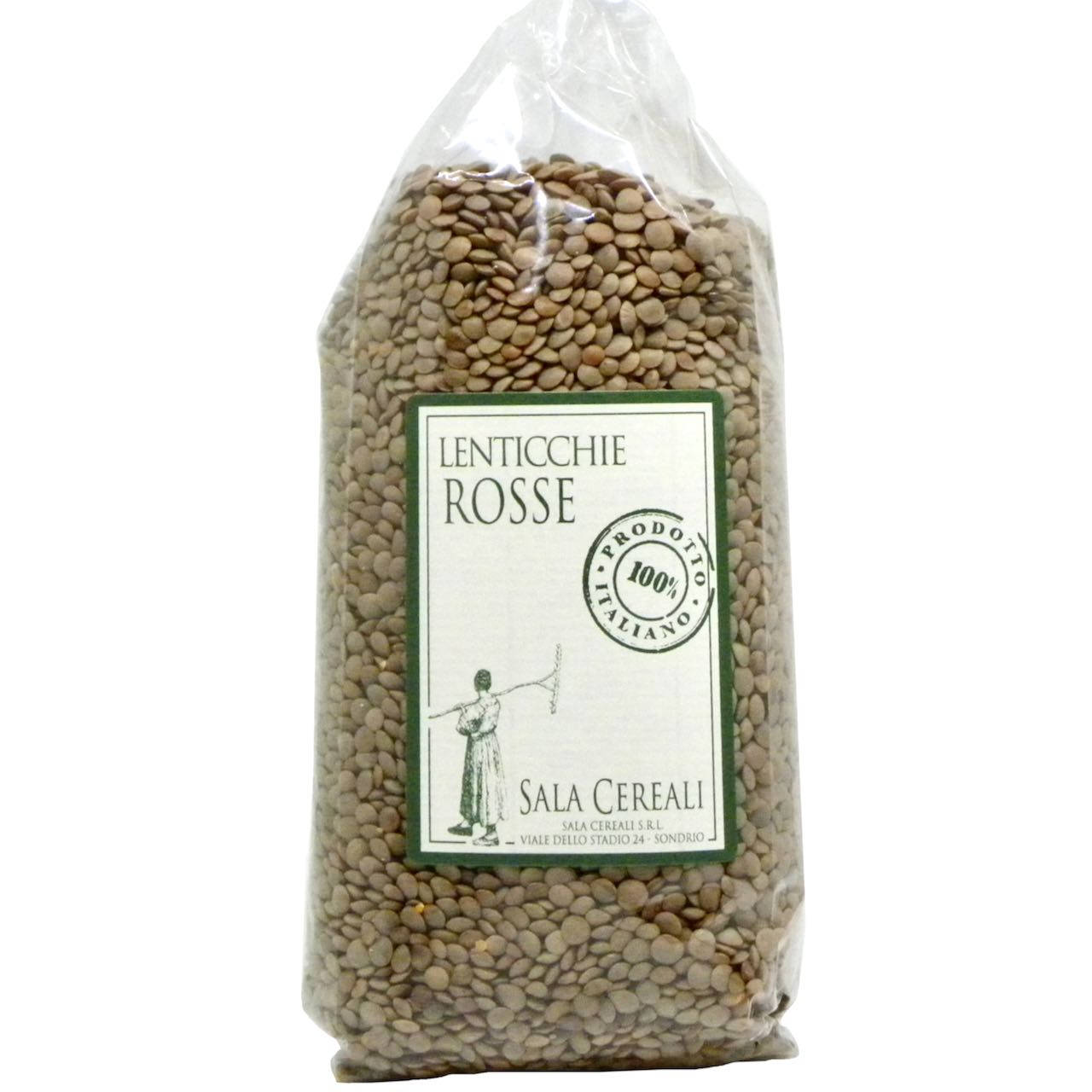 lenticchie rosse Sala Cereali – Gustorotondo – buono sano artigiano