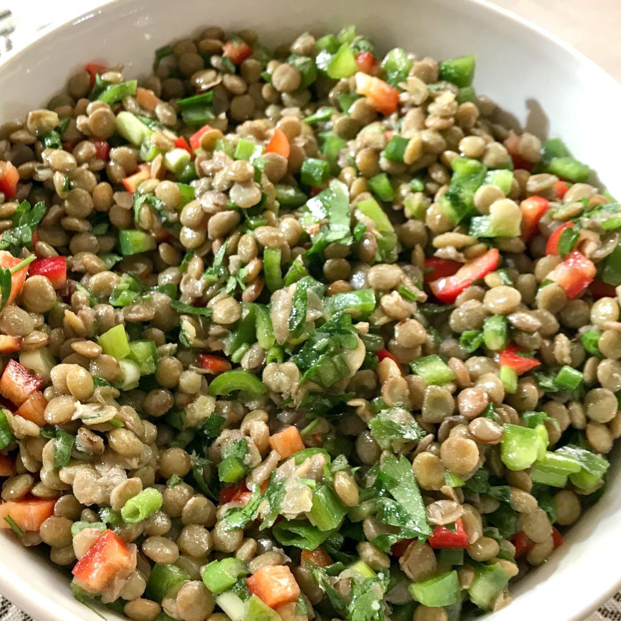 lenticchie verdi insalata – Gustorotondo – spesa online – buono sano artigiano