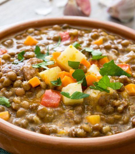 lenticchie zuppa - Gustorotondo - spesa online - buono sano artigiano