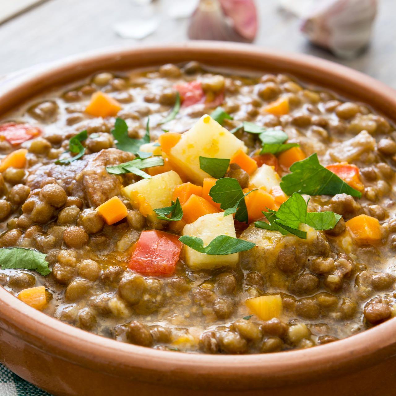 lenticchie zuppa – Gustorotondo – spesa online – buono sano artigiano