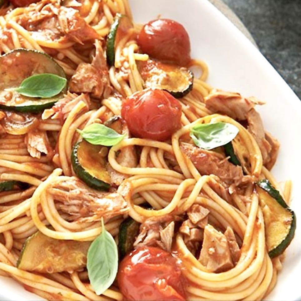 spaghetti tonno rosso filetti Mattina Nutritalia – Gustorotondo – spesa online – buono sano artigiano