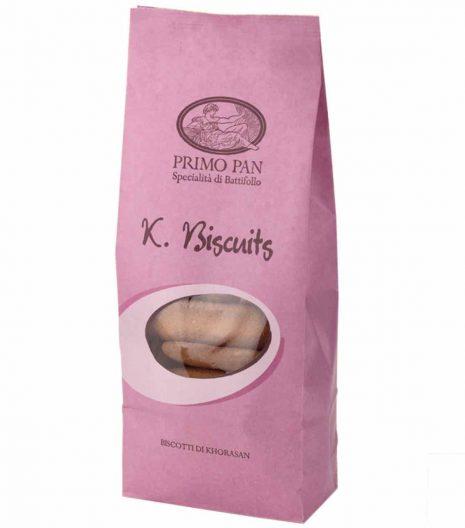 Biscotti di Khorasan - K Biscuits - Primo Pan - Gustorotondo - spesa online - consegna a domicilio - buono sano artigiano