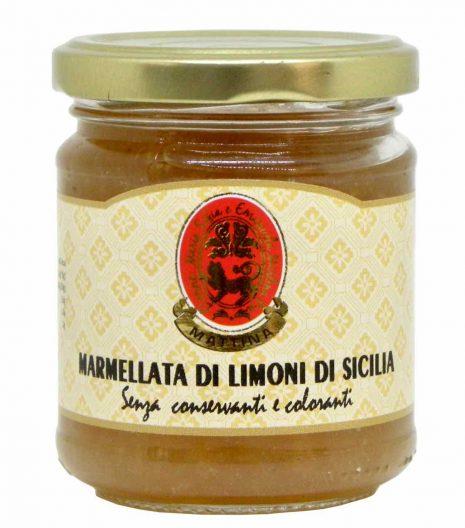 marmellata di limoni di Sicilia - Mattina - Nutritalia - Gustorotondo - spesa online - buono sano artigiano
