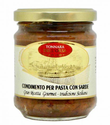 Condimento per pasta con sarde - Mattina - Nutritalia - Gustorotondo - spesa online - buono sano artigiano