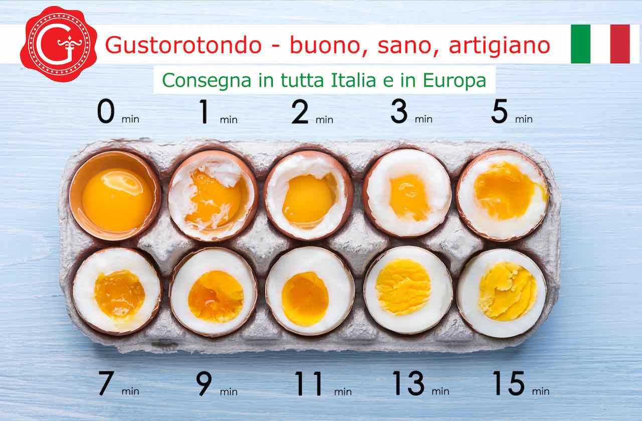 cottura uova - Gustorotondo - spesa online - buono sano artigiano